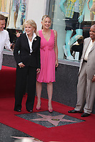 5/6/2011 Sharon Stone joins Jane Morgan Weintraub during Jane's Hollywood Walk of Fame ceremony