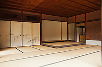"""Tatami originally means """"folded and piled"""" and are a traditional type of Japanese flooring. Traditionally made of rice straw to form the core though nowadays sometimes the core is composed of compressed wood chips or polystyrene foam, with a covering of woven rush straw. Usually, on the long sides, they have edging of brocade."""