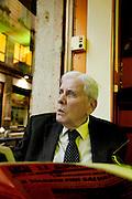 Milano, il giornalista del Il Giornale Mario Cervi