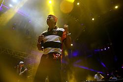 Mano Brown durante show do Racionais MC's no Planeta Atlântida 2013/SC, que acontece nos dias 11 e 12 de janeiro no Sapiens Parque, em Florianópolis. FOTO: Jefferson Bernardes/Preview.com