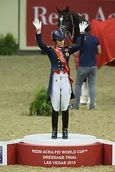 Dujardin Charlotte, (GBR), Valegro<br /> Kur<br /> Reem Acra FEI World Cup™ Dressage Final<br /> Las Vegas 2015<br />  © Hippo Foto - Dirk Caremans<br /> 19/04/15