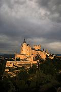 Segovia, famous for its Roman aqueduct, Cathedral and Alcazar, Castilla y Leon