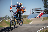 #29 (HUISMAN Ruby) NED  at Round 9 of the 2019 UCI BMX Supercross World Cup in Santiago del Estero, Argentina