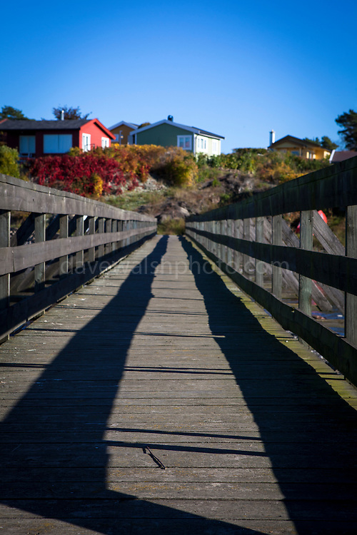Boardwalk, Lindoya, Oslofjord, Norway