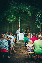 during vacation in big family, on 25 of June, 2021 in Kancevci, Slovenia. Photo by Blaž Weindorfer / Sportida