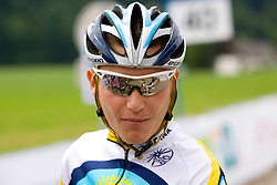 Jani Brajkovic at Slovenian National Championships in Road cycling, 178 km, on June 28 2009, in Mirna Pec, Slovenia. (Photo by Vid Ponikvar / Sportida)
