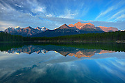 Herbert Lake<br /> Banff National Park<br /> Alberta<br /> Canada