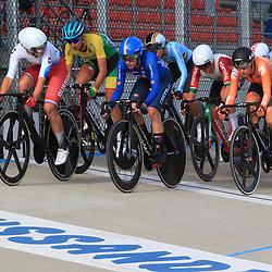 10-10-2020: Wielrennen: EK Baan: Fiorenzurola<br />klassementswedstrijd met Maike van der Duin