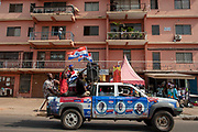 NPP Supporters take to the streets to celebrate ahead of the official Electoral Commission declaration of election results. Accra-Ghana. December 8, 2016. Photo; Francis Kokoroko