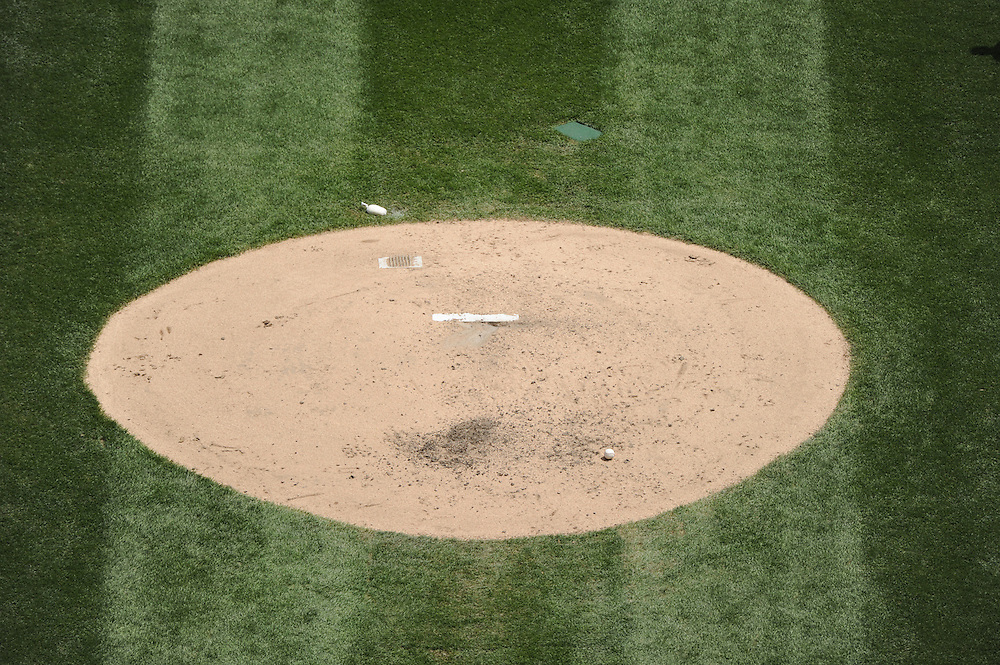 CHICAGO - MAY 22:  A general view of the pitchers mound at U.S. Cellular field during the game between the Los Angeles Dodgers and Chicago White Sox on May 22, 2011 at U.S. Cellular Field in Chicago, Illinois.  The White Sox defeated the Dodgers 8-3.  (Photo by Ron Vesely)