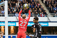 *** during the EFL Sky Bet Championship match between Queens Park Rangers and Fulham at the Loftus Road Stadium, London, England on 29 September 2017. Photo by Sebastian Frej.