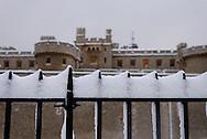 Tower of London, City, London, England, Britain 2 Feb 2009