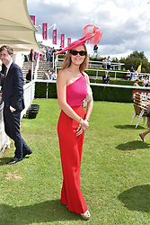 29 July 2021 - The QATAR Goodwood Festival Ladies Day at Goodwood Racecourse, West Sussex.<br /> Picture Shows - Eleonore Decaux<br /> <br /> <br /> NON EXCLUSIVE - WORLD RIGHTS