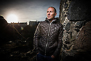 Tuesday 27th December 2016 Aberdeenshire, Scotland. <br /> <br /> Eoin Jess pictured at home in Portsoy for the Times.<br /> <br /> (Photo: Ross Johnston/Newsline Media)