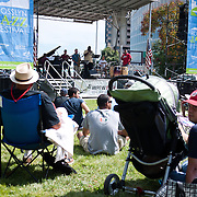 The 20th annual Rosslyn Jazz Festival (2010) in Rosslyn, a neighborhood of Arlington County very close to Georgetown and downtown Washington DC.