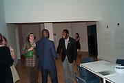 KODWO ESHUN; EKOW ESHUN;, Private view for the Turner prize exhibition. Tate Britain. London. 4 October 2010. -DO NOT ARCHIVE-© Copyright Photograph by Dafydd Jones. 248 Clapham Rd. London SW9 0PZ. Tel 0207 820 0771. www.dafjones.com.