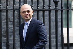 © Licensed to London News Pictures. 28/02/2017. LONDON, UK.  Secretary of State for Communities and Local Government, Sajid Javid arrives for a cabinet meeting at 10 Downing Street.  Photo credit: Vickie Flores/LNP