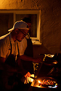 Bronx, NY - August 19, 2017: Chef Jose DeJesus a.k.a. Trill Cooker presents a Breaking Bread pop-up dinner in the Throgs Neck neighborhood.<br /> <br /> Credit: Clay Williams for Edible Bronx.<br /> <br /> © Clay Williams / http://claywilliamsphoto.com