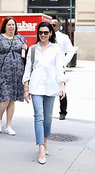 Julianna Margulies is seen leaving Build Studios. . 23 May 2019 Pictured: Julianna Margulies . Photo credit: Joe Russo / MEGA TheMegaAgency.com +1 888 505 6342