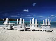 Beach Chairs, Cook Islands