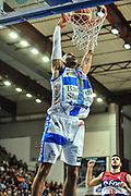 DESCRIZIONE : Campionato 2014/15 Dinamo Banco di Sardegna Sassari - Enel Brindisi<br /> GIOCATORE : David Logan<br /> CATEGORIA : Schiacciata<br /> SQUADRA : Dinamo Banco di Sardegna Sassari<br /> EVENTO : LegaBasket Serie A Beko 2014/2015<br /> GARA : Dinamo Banco di Sardegna Sassari - Enel Brindisi<br /> DATA : 27/10/2014<br /> SPORT : Pallacanestro <br /> AUTORE : Agenzia Ciamillo-Castoria / M.Turrini<br /> Galleria : LegaBasket Serie A Beko 2014/2015<br /> Fotonotizia : Campionato 2014/15 Dinamo Banco di Sardegna Sassari - Enel Brindisi<br /> Predefinita :