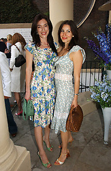 Left to right, Actress JAIME MURRAY and LAUREN KEMP at the annual Michele Watches Summer Party held in the gardens of Home House, 20 Portman Square, London W1 on 15th June 2006.<br />