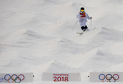 February 9, 2018 - Pyeongchang, South Korea - 180209 Ludvig FjÅ llstrÅ¡m of Sweden compete in the MenÃ•s Moguls Qualification during the 2018 Winter Olympics on February 9, 2018 in Pyeongchang..Photo: Petter Arvidson / BILDBYRN / kod PA / 91956 (Credit Image: © Petter Arvidson/Bildbyran via ZUMA Press)