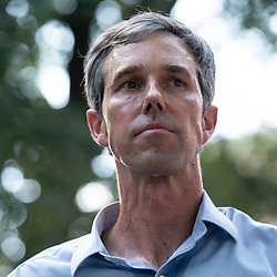 Almost a thousand Texas Democrats, including former congressman and presidential candidate BETO O'ROURKE, rally at the State Capitol supporting voting rights bills stalled in Congress and decrying Republican efforts to thwart voter registration and access to the polls.