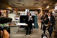 Singer Ozzy Osbourne signs copies of his memoir, I Am Ozzy, at Warwick's bookstore in La Jolla, Feb. 19, 2010.