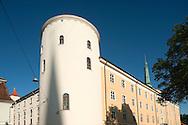 Castle in the old city centre, Riga, Latvia © Rudolf Abraham
