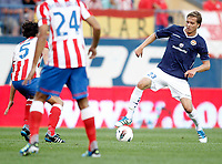 Stromsgodset's Anders Konradssen during UEFA Europa League third qualifying round match. July 28, 2011. (ALTERPHOTOS/Alvaro Hernandez)