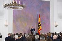 22 FEB 2013, BERLIN/GERMANY:<br /> Joachim Gauck, Bundespraesident haelt eine Rede zu Europa, Schloss Bellevue<br /> IMAGE: 20130222-02-013<br /> KEYWORDS: Europarede, speech, Europe