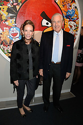 MARTIN & ANNE SUMMERS at the PAD Art and Design Fair 2013 Collectors Preview in Berkeley Square, London on 14th October 2013.