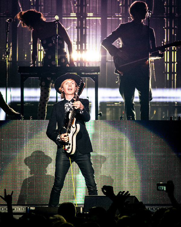 NEW YORK, NY - JULY 19: American musician Beck performs at Madison Square Garden on July 19, 2018 in New York, New York. (PHOTO CREDIT: EricMTownsend.com)