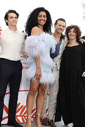 Photocall for 'Port Authority' during the 72nd annual Cannes Film Festival on May 19, 2019 in Cannes, France. CAP/GOL ©GOL/Capital Pictures. 19 May 2019 Pictured: Fionn Whitehead, Lenya Bloom, McCaul Lombardi, Danielle Lessovit Fionn Whitehead, Lenya Bloom, McCaul Lombardi, Danielle Lessovitz and cast. Photo credit: GOL/Capital Pictures / MEGA TheMegaAgency.com +1 888 505 6342