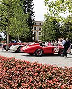Como, Italy, Concorso d'Eleganza Villa D'Este, Ferrari 750 MOnza , Modena