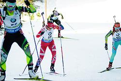 Bente Landheim (NOR) competes during Women 10 km Pursuit at day 3 of IBU Biathlon World Cup 2015/16 Pokljuka, on December 19, 2015 in Rudno polje, Pokljuka, Slovenia. Photo by Ziga Zupan / Sportida