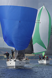 Peelport Clydeport Largs Regatta Week 2013 <br /> GBR8038R, Roxstar, XP38i, Findlay/Anderson, CCC<br /> <br /> Largs Sailing Club, Largs Yacht Haven, Scottish Sailing Institute