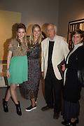 FRANKIE CHERRY; REBECCA HOSSACK; PETER USBORNE; CLAUDIA HOLZER, The preview of LAPADA Art and Antiques Fair. Berkeley Sq. London. 21 September 2015.