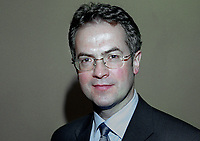 Alex Attwood, SDLP, MLA, West Belfast, N Ireland Assembly, 199911031.<br /> <br /> Copyright Image from Victor Patterson, Belfast, UK<br /> <br /> t: +44 28 9066 1296 (from Rep of Ireland 048 9066 1296)<br /> m: +44 7802 353836<br /> e: victorpattersonbelfast@gmail.com<br /> <br /> www.images4media.com<br /> <br /> Please see my full Terms and Conditions of Use at https://www.images4media.com/p/terms-conditions - it is IMPORTANT that you familiarise yourself with them.<br /> <br /> Images used online incur an additional cost. This cost should be agreed in writing in advance. Online images must be visibly watermarked i.e. © Victor Patterson or that of the named photographer within the body of the image. The original metadata must not be deleted from images used online.<br /> <br /> This image is only available for the use of the download recipient i.e. television station, newspaper, magazine, book publisher, etc, and must not be passed on to a third party. It is also downloaded on condition that each and every usage is notified within 7 days to victorpattersonbelfast@gmail.com.<br /> <br /> The right of Victor Patterson (or the named photographer) to be identified as the author is asserted in accordance with The Copyright Designs And Patents Act (1988). All moral rights are asserted.