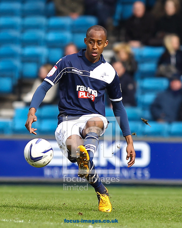 Picture by John Rainford/Focus Images Ltd +44 7506 538356.27/04/2013.Jimmy Abdou of Millwall during the npower Championship match at The Den, London.