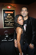 """l to r; Donna Brown and Nasser Metclaife at the 12th Annual  Urbanworld Film Festival screening of """"Tennessee""""  held in NYC at the AMC Loews Theater on September 12, 2008..The Urbanworld  Film Festival is dedicated to showcasing the best of urban independent film.."""