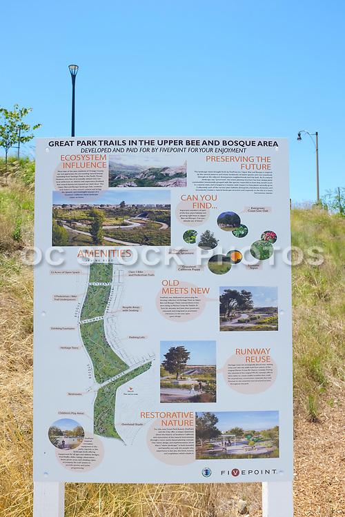 Great Park Bosque Area Map