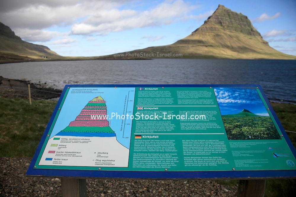 Mt. Kirkjufell in Grundarfjordur fjord, Snaefellsnes Peninsula, Iceland
