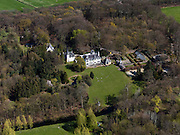 Nederland, Noord-Holland, Hilversum, 16-04-2012; 's-Gravenland, Zuidereind. Landgoed en villa Swaenenburgh.Estate and villa Swaenenburgh..luchtfoto (toeslag), aerial photo (additional fee required);.copyright foto/photo Siebe Swart