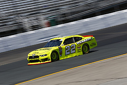 July 20, 2018 - Loudon, New Hampshire, United States of America - Brad Keselowski (22) takes to the track to practice for the Lakes Region 200 at New Hampshire Motor Speedway in Loudon, New Hampshire. (Credit Image: © Justin R. Noe Asp Inc/ASP via ZUMA Wire)