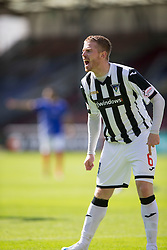 Dunfermline's Andy Geggan. <br /> Dunfermline 5 v 1 Cowdenbeath, Scottish League Cup game played today at East End Park.