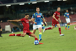 October 3, 2018 - In the Photo : Fabio Ruiz Napoli vs galis Liverpol.Italy at the San Paolo stadium in Naples 3 October is the match of group C of the Champion Leaghue, the largest European football event. (Credit Image: © Fabio Sasso/ZUMA Wire)