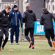 NLD/Rotterdam/20180301 - Training Feyenoord voor de bekerfinale, Dylan Vente