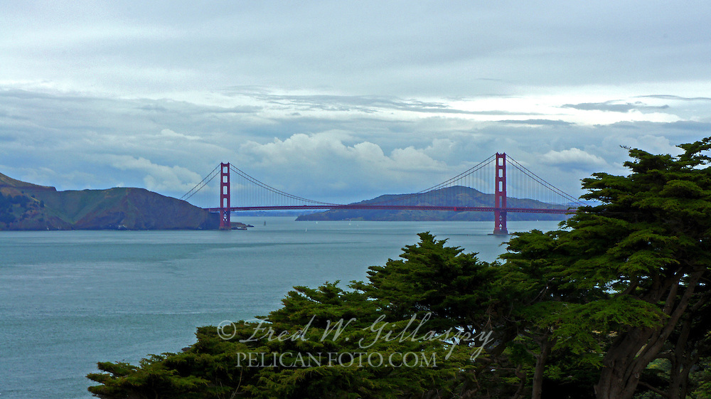 The Golden Gate from Lands End, San Francisco